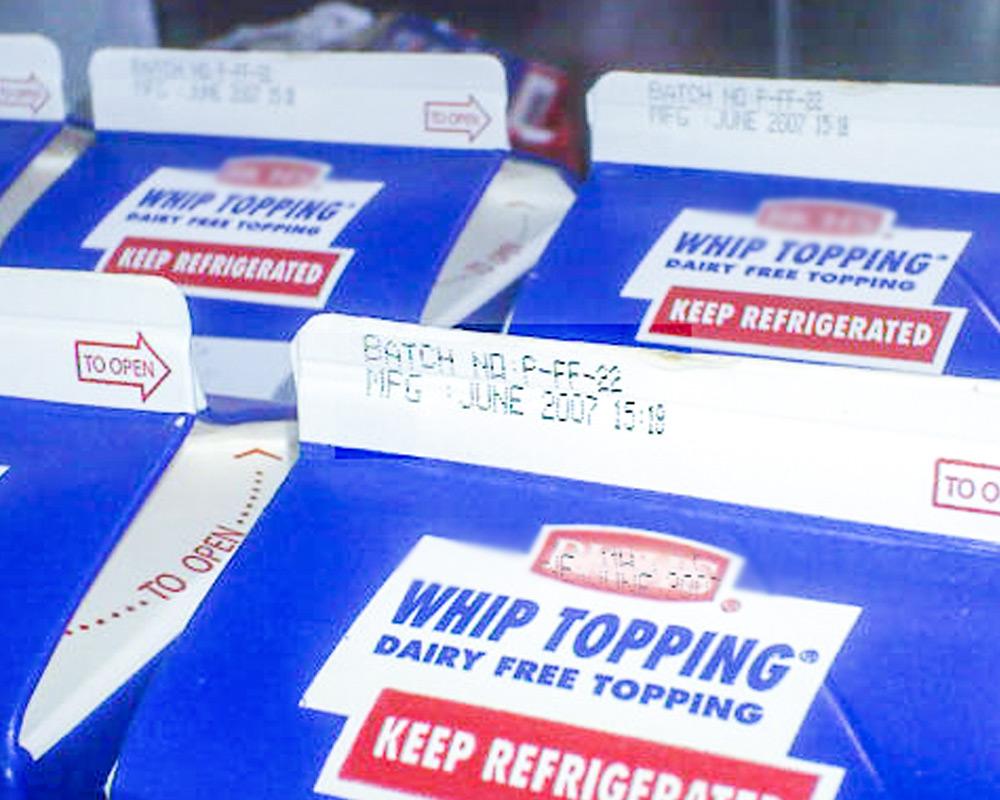 Dairy flow wrap