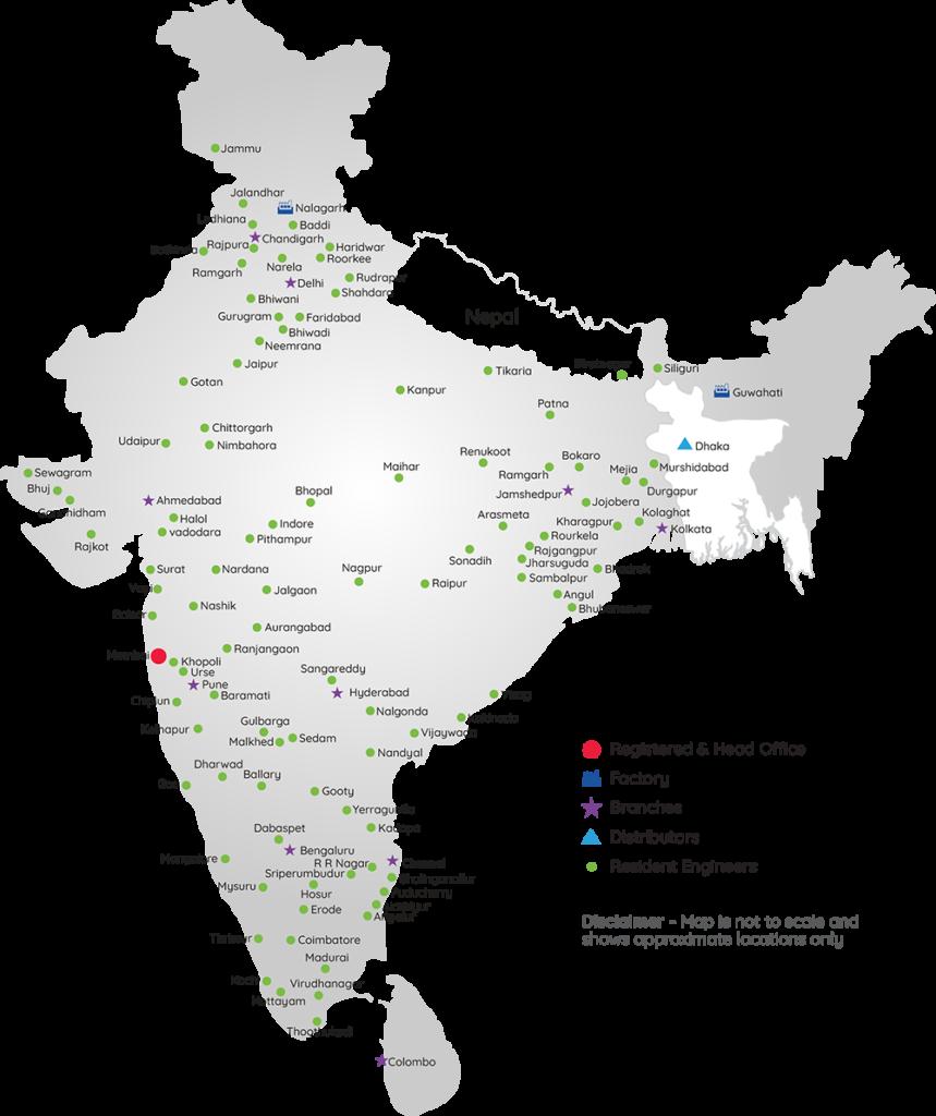 Control Print - Service Network Map