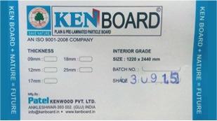 Ken board label